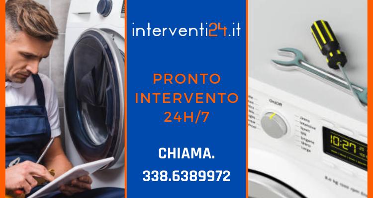 collagamento nuova lavatrice Milano